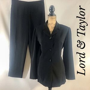 COPY - Lord and Taylor DANI MAX VTG Black Pants S…